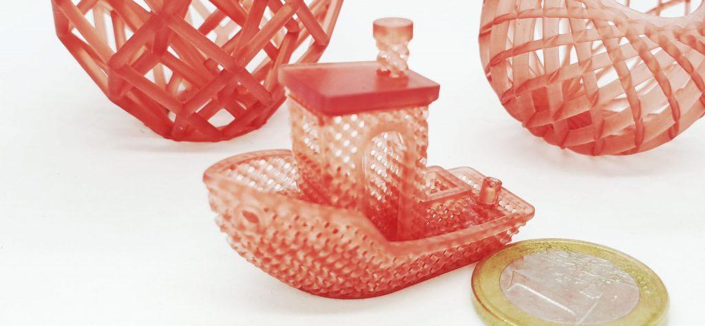 ejemplos de impresión 3D de resina