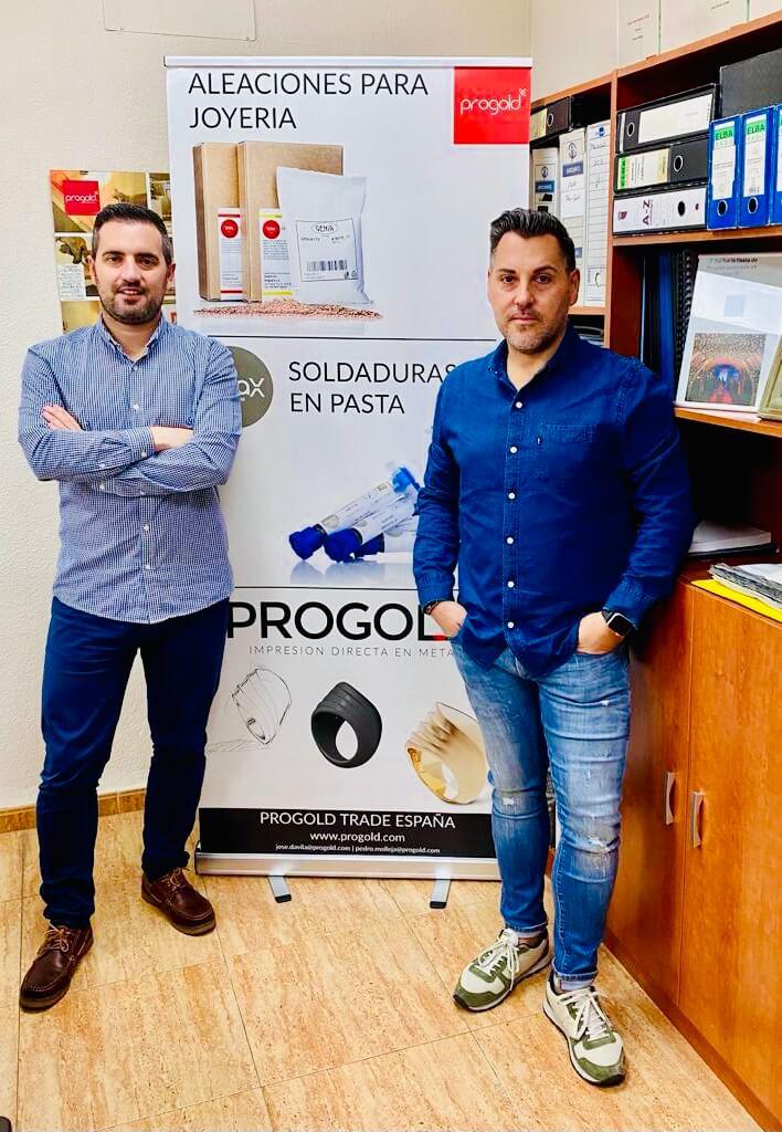 Pedro y Jose de Progold España