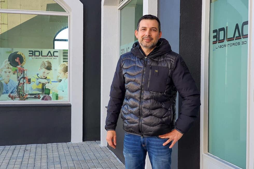 Jose Angel Castaño, CEO de 3DLac y de laboratorios 3D